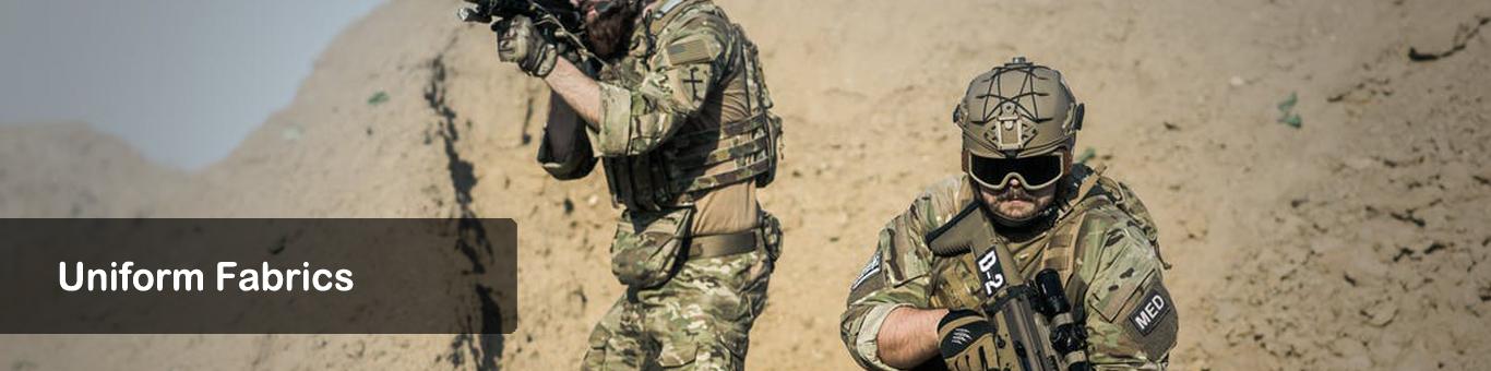Military Textiles l Uniform Fabrics | Hiltex Overseas